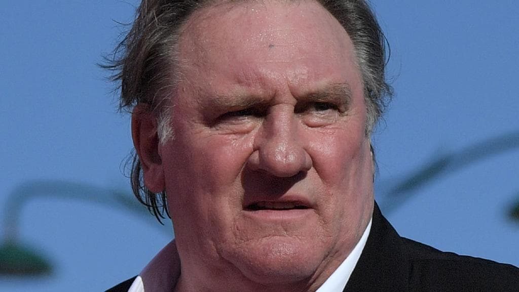 French actor Gerard Depardieu claims he survived his mother's abortion attempt. Picture: AFP/Tiziana Fabi