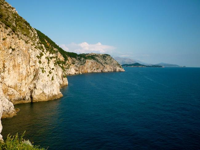 The popular cliffs of Dubrovnik. Picture: Grace. Donoghue.