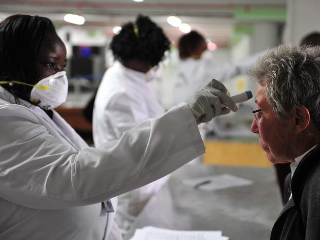 Coordinated response ... WHO has teamed up with airlines and tourism groups in an effort to stop the spread of Ebola.