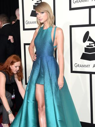 Thigh high ... Taylor Swift. Picture: Jason Merritt/Getty Images