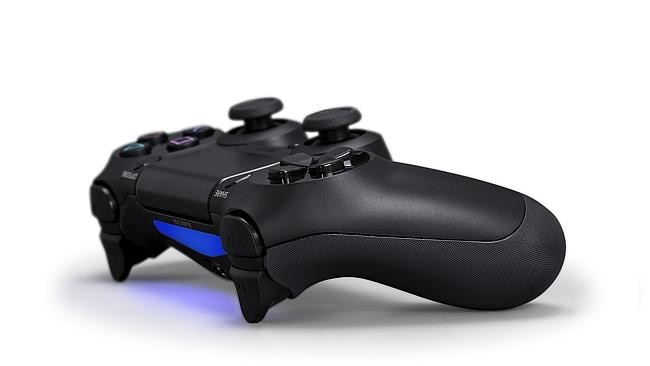 The new DualShock controller is receiving plenty of praise. We love the colour-changing light bar, built-in speakers and headphone socket. Source: supplied