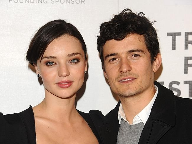 Actor Orlando Bloom and Miranda Kerr attend the premiere of The Good Doctor during the 2011 Tribeca Film Festival on Friday, Ap