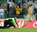 <p>This hot-footed streaker sent security guards sprawling at rugby league's 2008 Centenary Test between Australia and New Zealand at the SCG.</p>