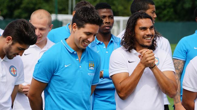 Samir Nasri and David Williams.