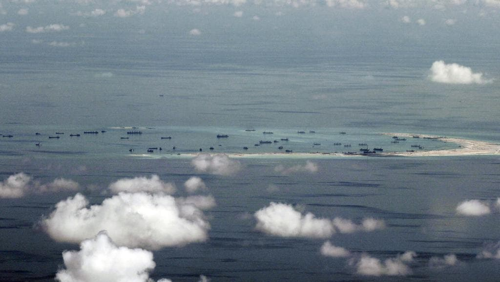 The South China Sea is one of China's key interests. (Pic: Ritchie B. Tongo/AP)