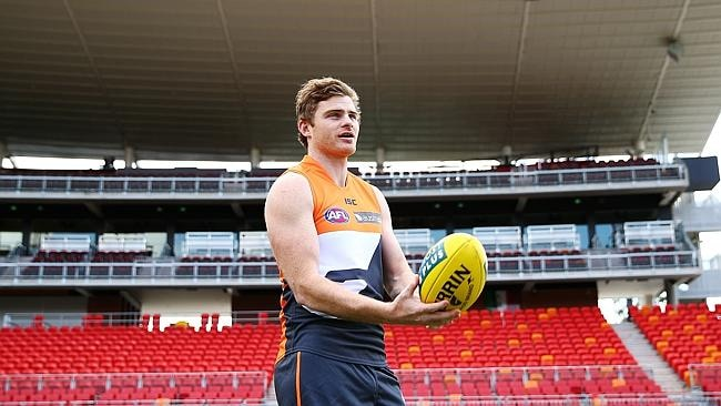 Heath Shaw and the Giants don't face the Pies until round 22. Picture: Getty Images