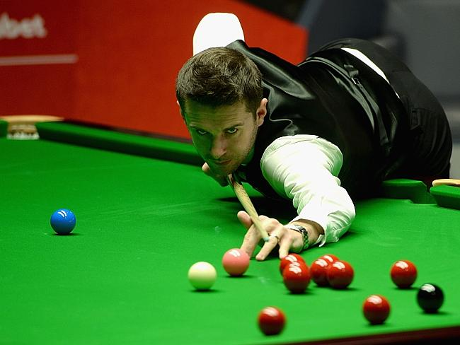 Both Mark Selby (pictured) and Neil Robertson need to win five more frames if they are to face defending champion Ronnie O'Sullivan. Picture: Gareth Copley