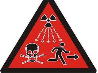 The United Nations' new symbol for dangerous radiation was released in 2007.