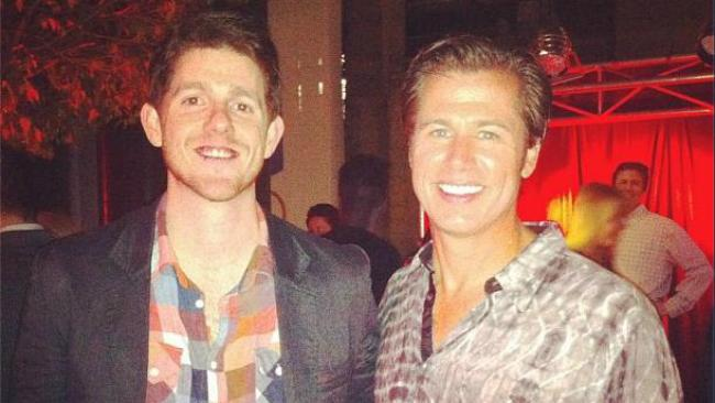 CP and DP. Just a couple of guys, hanging out, definitely NOT having a bad shirt competition. Picture: Instagram