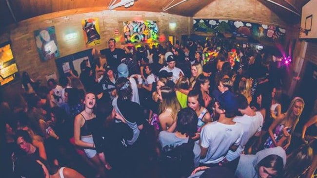 The Bayswater party where Jaiden was attacked. Picture: Flashback Melbourne Photography