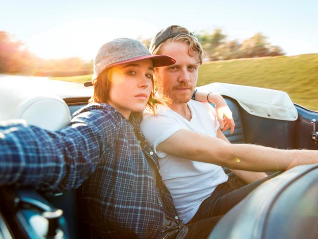 Gaycation stars Ellen Page ( <i>Juno</i>,  <i>Inception</i>) and friend Ian Daniel who travel the world to see how LGBTQI live.