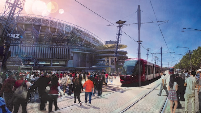 Mike Baird Is Expected To Sign Off On New Light Rail And Stadium Projects For Olympic Park