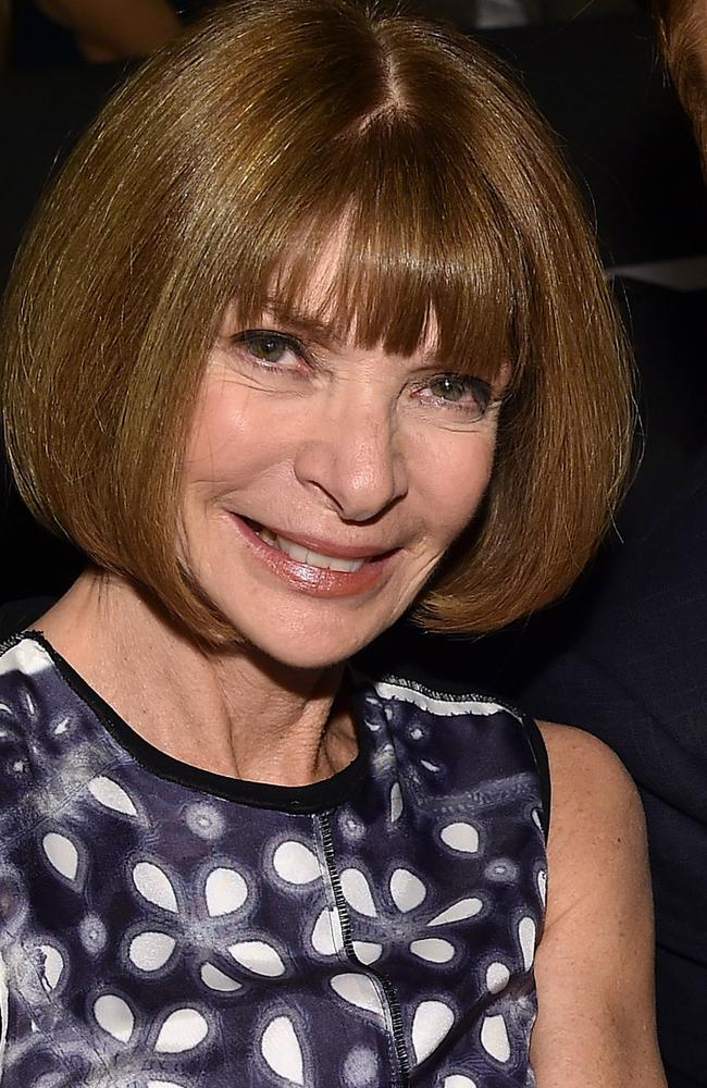 Anna Wintour in New York on January 7, 2016.