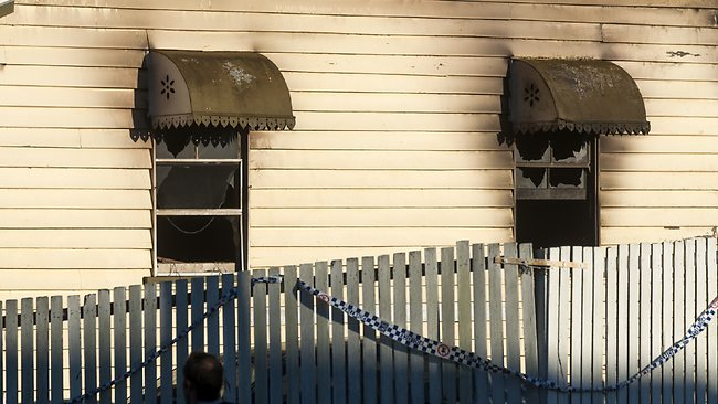 A two-year-old boy died in a house fire at Toowoomba. Picture: David Martinelli