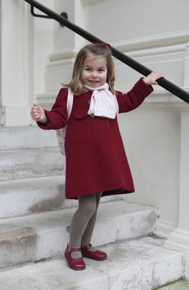 Princess Charlotte was photographed by her mum, Catherine. Picture: Duchess of Cambridge via AP