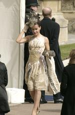 Socialite Tara Palmer-Tomkinson attends the Service of Prayer of Dedication following the marriage of TRH Prince Charles and The Duchess Of Cornwall, Camilla Parker Bowles in 2005. Picture: Dave Hogan/Getty Images