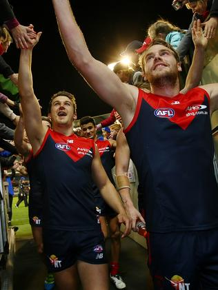 Jack Trengove and Jack Watts are both on their way to the Power. Picture: Wayne Ludbey