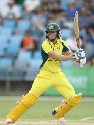 Ellyse Perry was dominant with the bat and ball in Coffs Harbour.