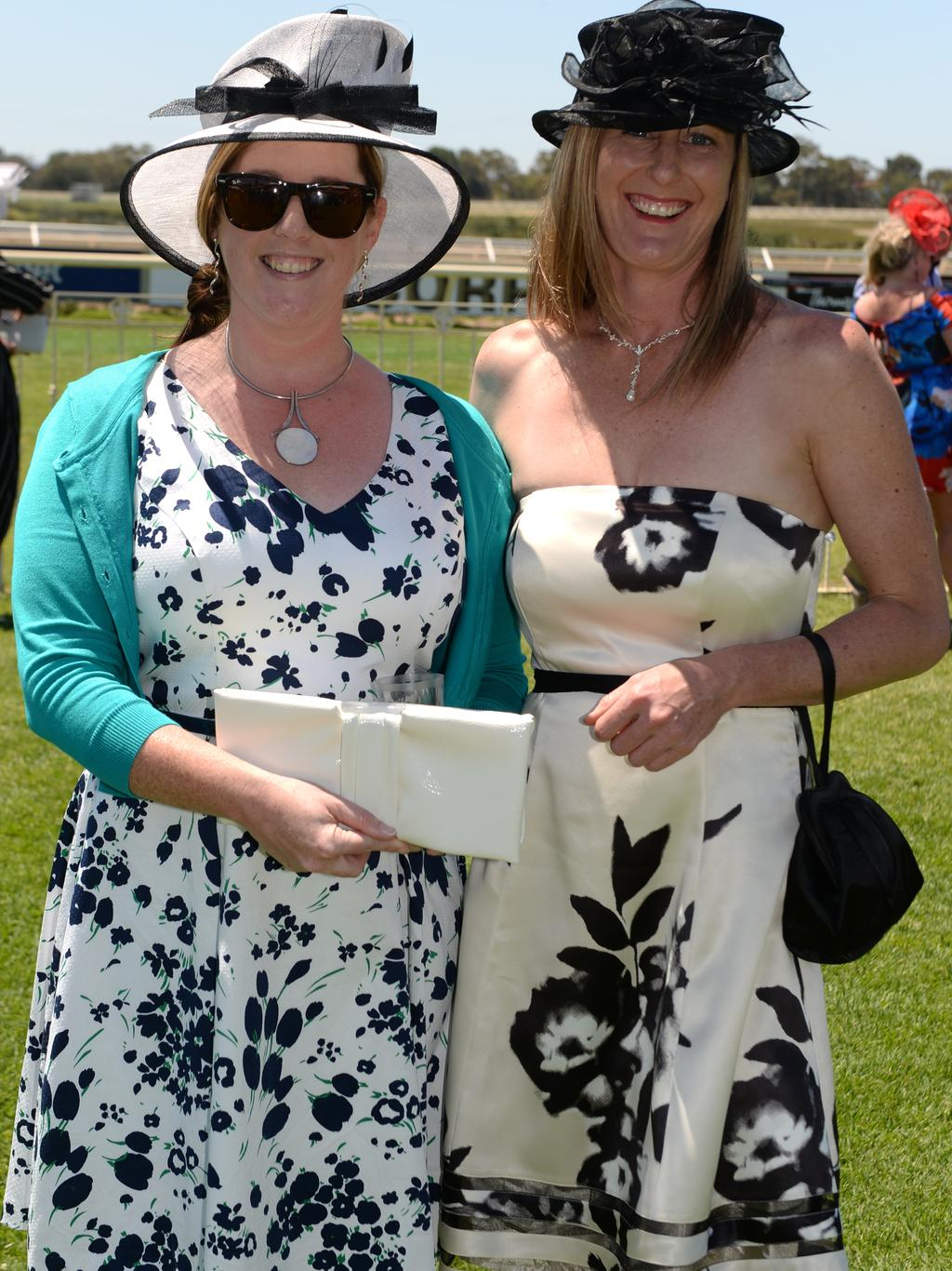 The 2016 Melbourne Cup at Ascot Racecourse, Perth. Jenelle Winnett and Raquel Spencer. Picture: Justin Benson-Cooper