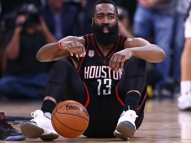 NBA star James Harden is the highest profile adidas athlete in the NBA.