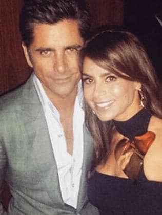Still friends ... John Stamos and Paula Abdul. Picture: Instagram