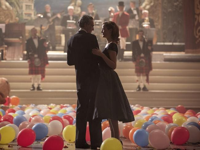 """""""Love is strange,"""" says Anderson — especially for Phantom Thread's Reynolds (Day-Lewis) and Alma (Vicky Krieps). Picture: Universal Pictures"""