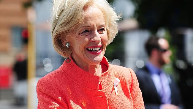 Exiting ... Quentin Bryce's tenure as Governor-General ends in March.