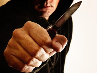 THINKSTOCK - Robbery, Knife
