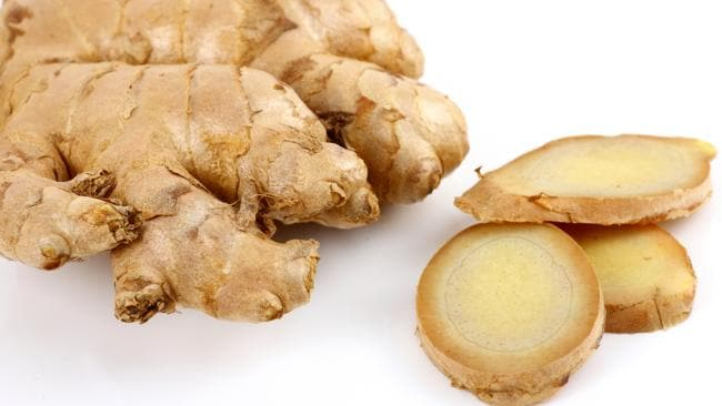 Eat ginger fresh or cooked in some form every day.