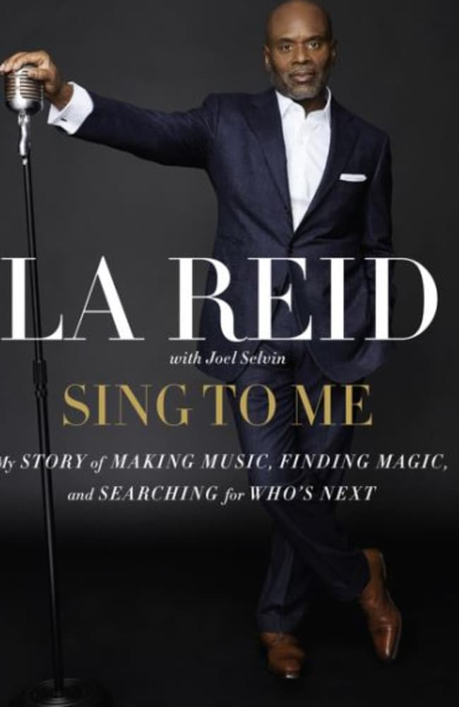 Revealing ... producer LA Reid has penned a new memoir, Sing To Me. Picture: HarperCollins Publishers