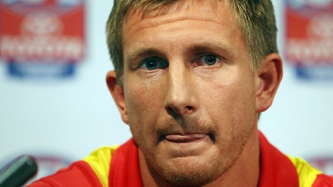 The Gold Coast Suns' Nathan Bock, the latest player to be investigated by ASADA, has been no strager to scandal throughout his AFL career.