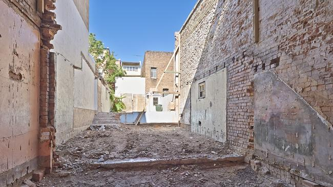 A facade-only block at 49 Great Buckingham St, Redfern is for sale with a whopping $1.25 million plus price guide. Other than a Victorian facade there is 163sq m of rubble.