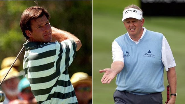 THERE has never been any love lost between Nick Faldo, left, and Colin Montgomerie.