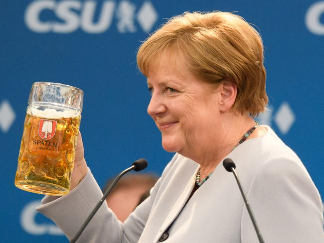 German Chancellor Angela Merkel on Sunday declared that Europe could no longer rely on its US ally. Picture: Getty