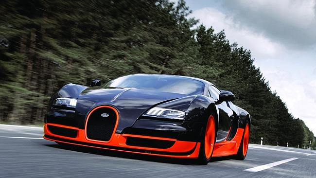 Bugatti's Veyron is a speed...