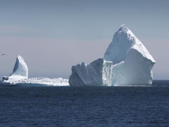 Tourists are flocking to get a glance of this vast iceberg. Photo: Paul Daly/The Canadian Press around AP