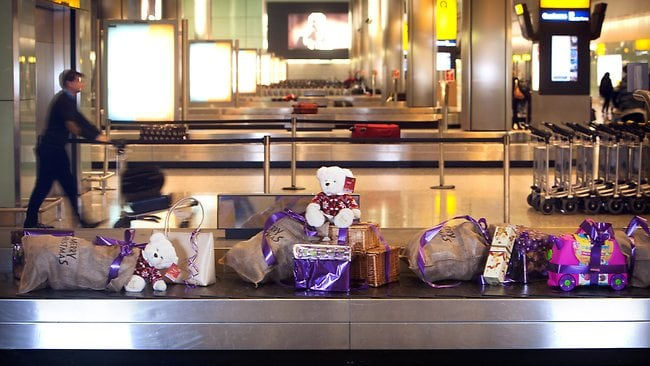 Stressed passengers at Heathrow Aiport over the Christmas period could receive a treat from the airport's Secret Santa.