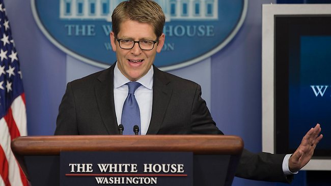 No reprieve ... White House press secretary Jay Carney has reiterated the position of the White House that there will be no amnesty for former NSA contractor Edward Snowden.