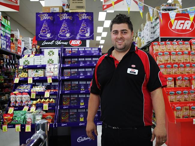 Leo Filippello, whose family has owned the Luddenham IGA for years also supports the Badgerys Creek airport proposal.