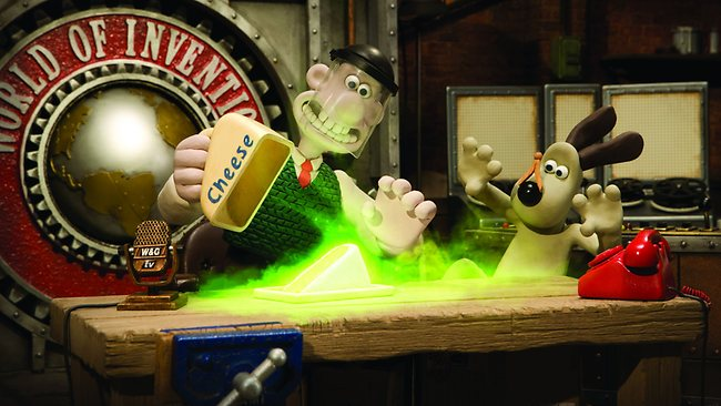 Visitors to the Wallace & Gromit exhibition can engage in activities designed to spark the imagination. Picture: Supplied