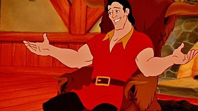 "Gaston from ""beauty and the Beast""."