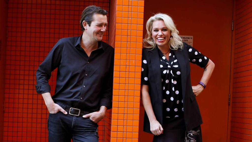 GREAT MATES: Adam Harvey and Beccy Cole have hit the road for the Great Country Songbook Volume II. Picture: BRIANNE MAKIN
