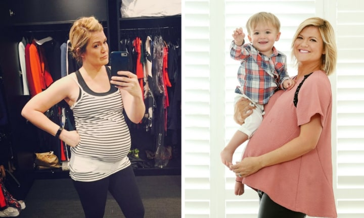 Sarah Harris gets real about wetting her pants and delivering baby two