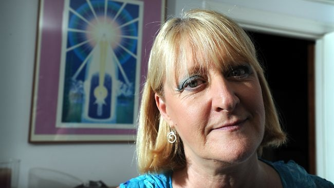 Sheryl Gottschall is president of UFO Research Queensland, a group that logs sightings and holds monthly UFO discussion groups in Kenmore. Picture: Chris Mccormack