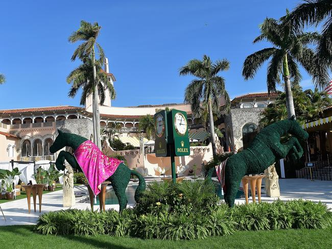 The billionaire regularly hosts extravagant events, including the Trump Invitational Grand Prix, at the opulent Mar-a-Lago in Palm Beach.
