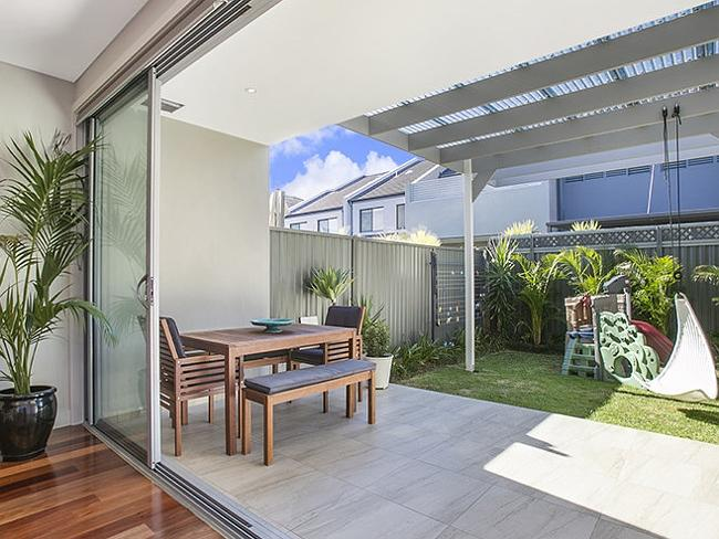 The four-bedroom house was bought by buyers who were looking to move into the area from Burwood.
