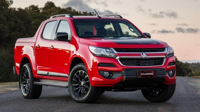 HSV is about to work its magic on the Holden Colorado — just don't expect a power boost from any of these workhorses. Picture: Supplied