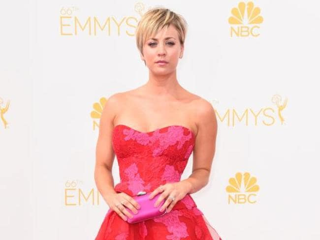 Big bucks theory ... Kaley Cuoco-Sweeting has just signed a new contract paying her $US1 million an episode. Picture: Getty