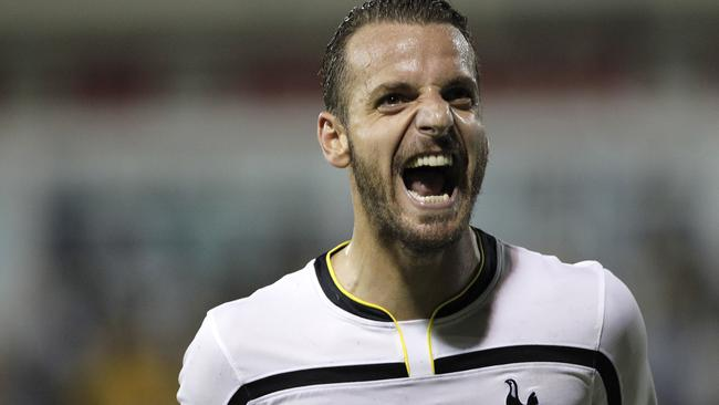 Spurs striker Roberto Soldado helped put the north London club on the verge of qualification.