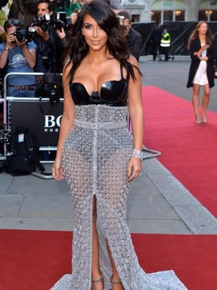 Kim Kardashian attends the GQ Men of the Year awards.